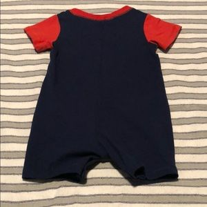 First Impressions One Pieces - Baby Boys Cotton Nautical Romper